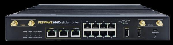 Peplink MAX HD4 MBX Multi-WAN Router (Vorderseite)