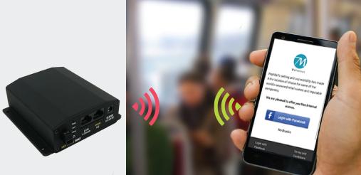 Peplink MAX BR1 Social Wi-Fi