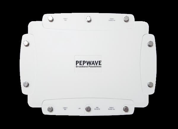 Peplink MAX HD2 IP67 Dual LTE Outdoor Router (Oben)