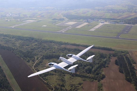 The Hy4 – the world's first four-seat passenger aircraft with hydrogen fuel cell technology and electric propulsion